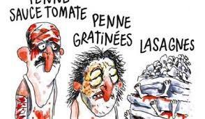 Charlie Hebdo sfotte i terremotati di amatrice